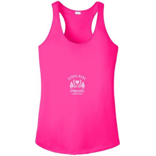 Gymnastics Custom School Team Performance Tank