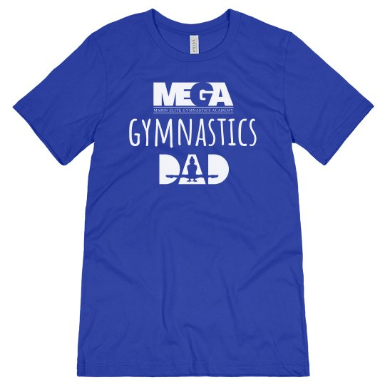Gymnastics 'Dad' Logo Tee