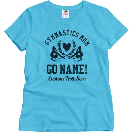 Gymnastics Mom Custom Name & Text