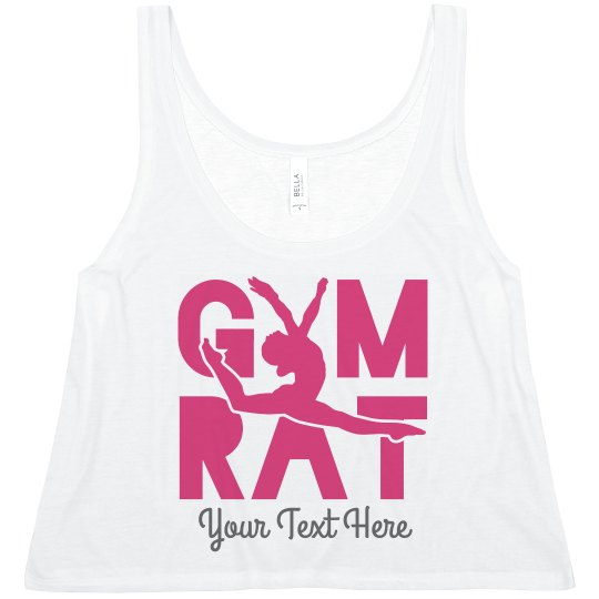 Gymnastics Rat Cute Workout Design