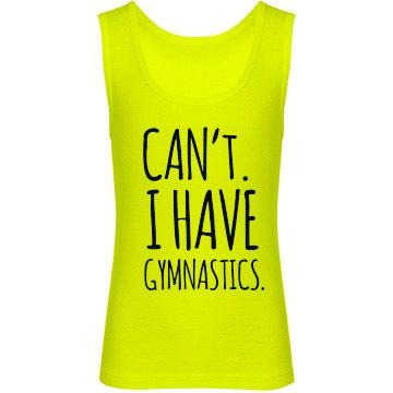Gymnastics Tank
