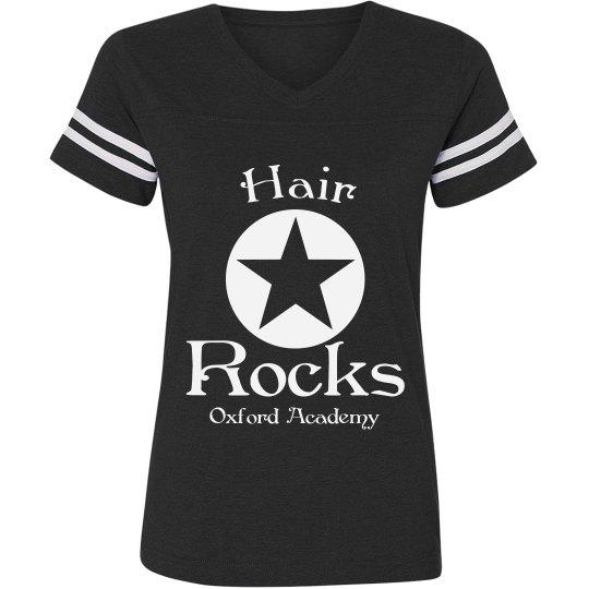 hair rocks tee