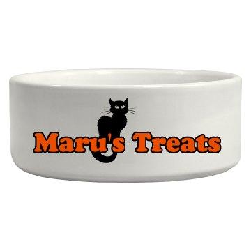 Halloween Cat Bowl