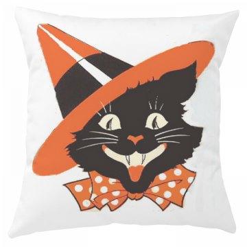Halloween Cat Pillow Cover