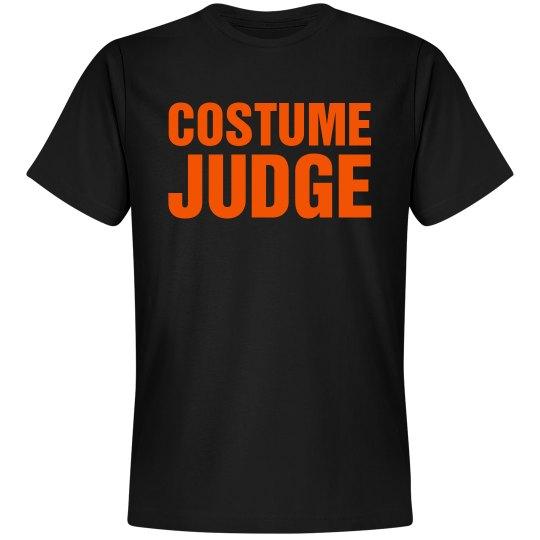 Halloween Costume Judge