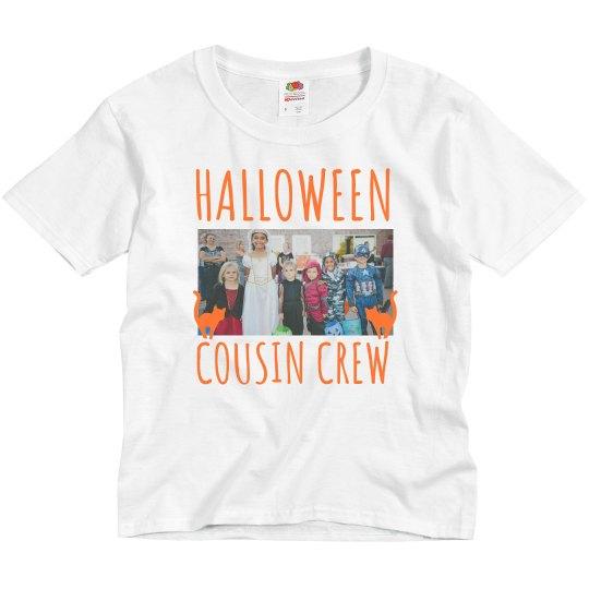 Halloween Cousin Crew Upload Photo