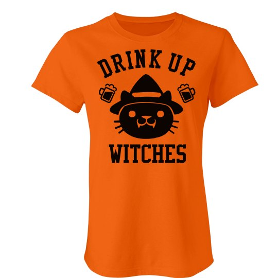Halloween Drink Up Witches