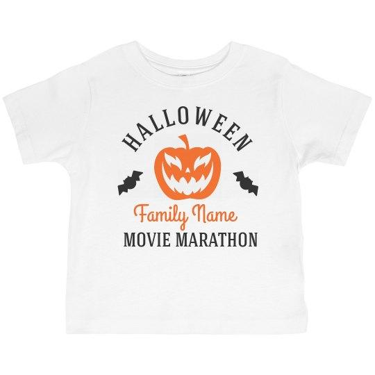Halloween Movie Marathon Matching Family