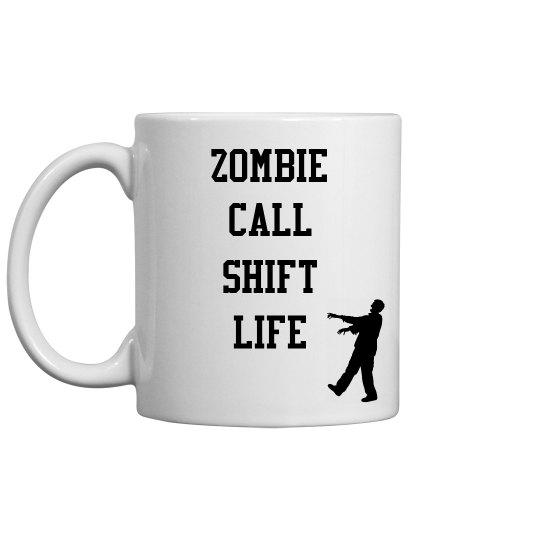 Halloween Mug- Call shift