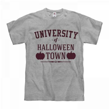 Halloween Town University Maroon