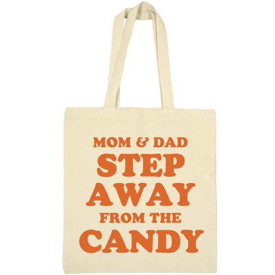 Halloween Trick Or Treat Candy Tote