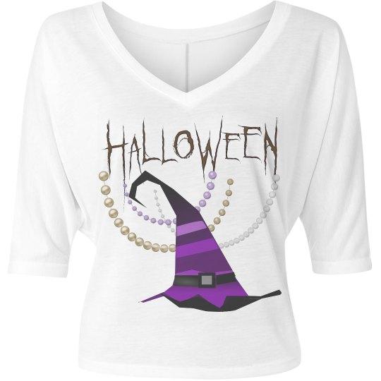 HalloweenPearlsWitchesHat