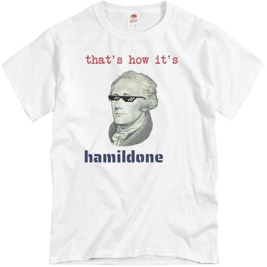 Hamildone shirt