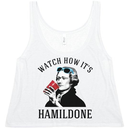 Hamilton Drinking Tanks How It's Hamildone