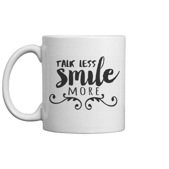 Hamilton Talk Less Mug