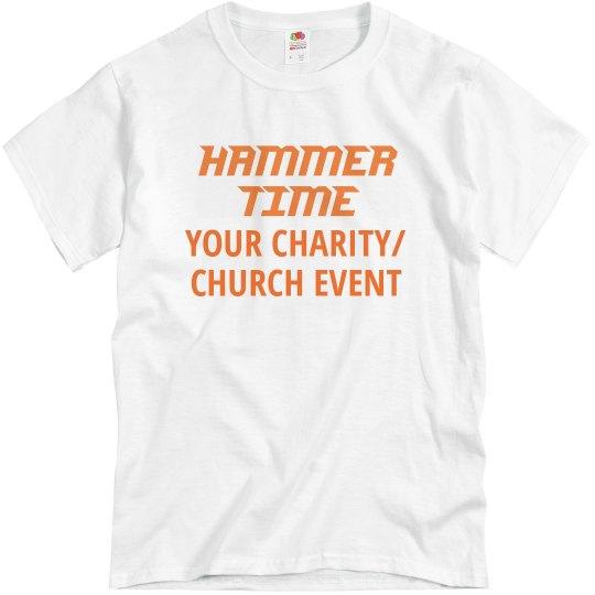 Hammer Time orange