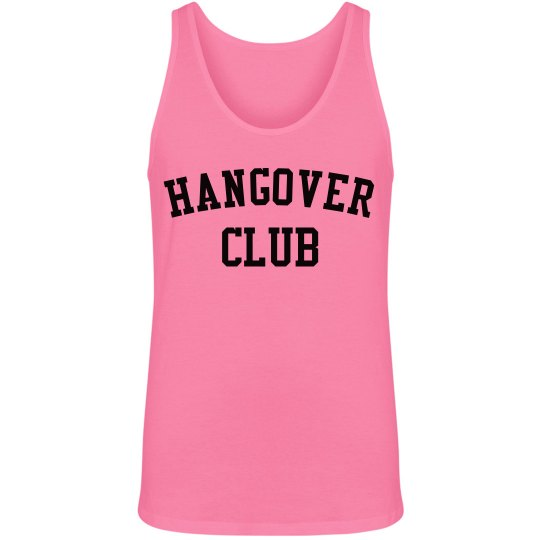 Hangover Club Unisex Neon Tank