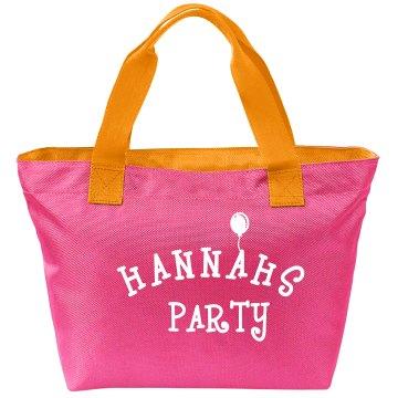 Hannahs Party Bag