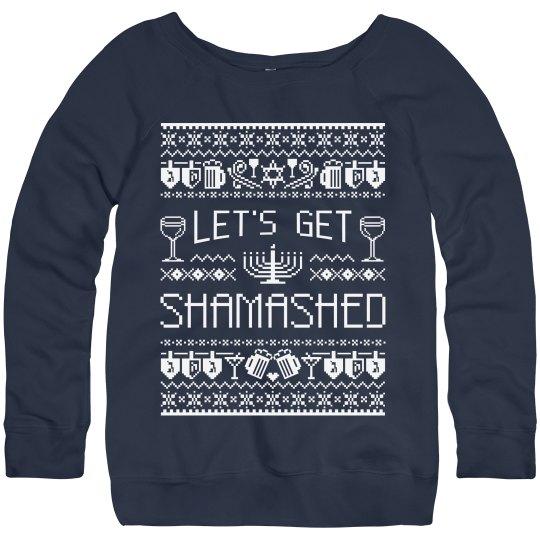 Hanukkah Party Sweater