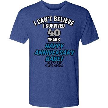 Happy 40th Anniversary!