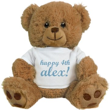 Happy 4th Alex Bear