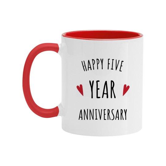 Happy 5 Year Wedding Anniversary