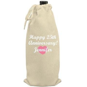 Happy Anniversary Wine