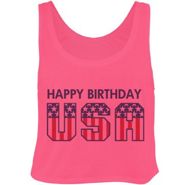 Happy Bday USA