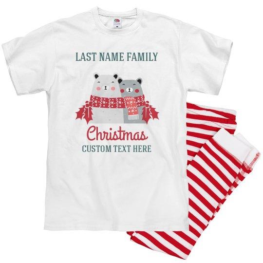Happy Bears Family Christmas Pajamas