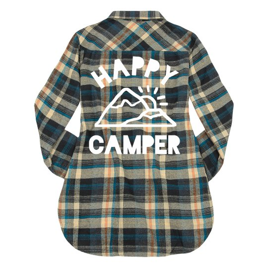 Happy Camper Flannel
