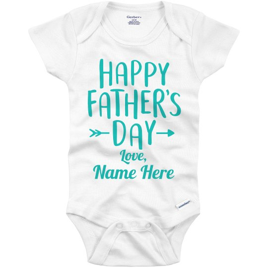 Happy Father's Day Love Custom Name