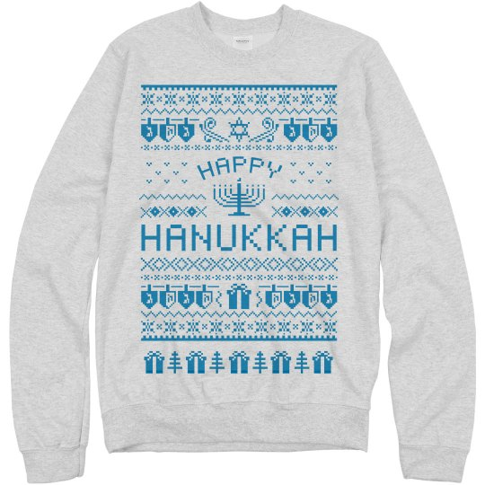 Happy Hannukah Sweatshirt