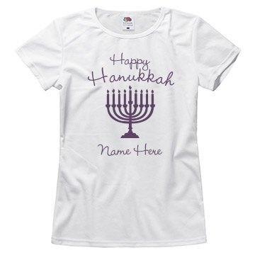 Happy Hanukkah Tee