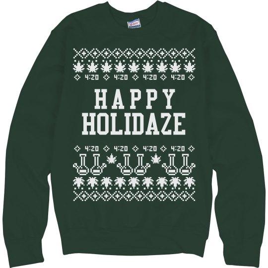 Happy Holidaze Christmas Sweater