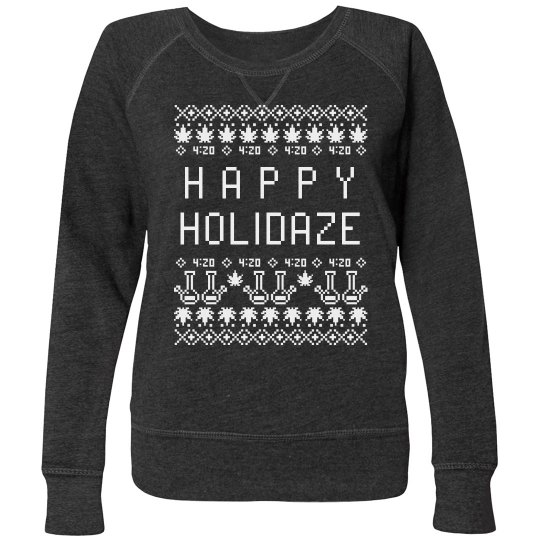 Happy Holidaze Plus Size Pullover