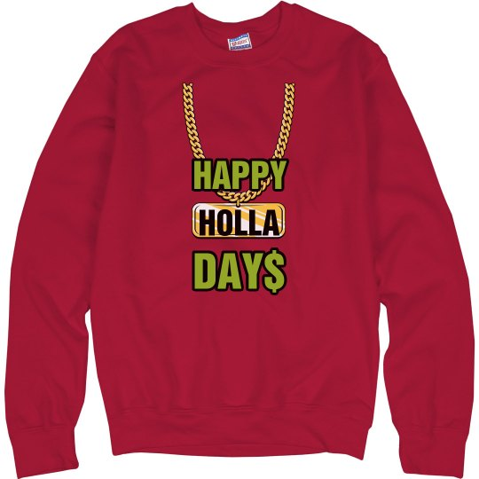 Happy Holla Days Holidays