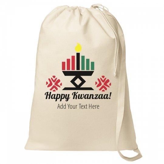 Happy Kwanzaa Custom Gift Bag