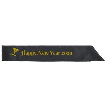 Happy New Year Sash
