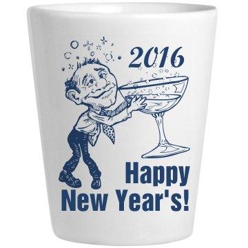Happy New Year's Shot