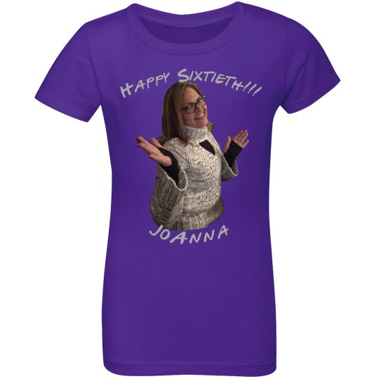 Happy Sixtieth - Youth Girls Shirt