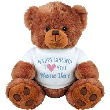 Happy Spring I Love You