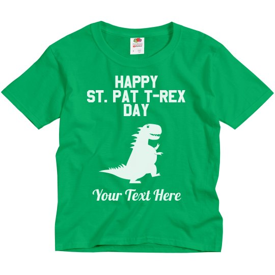 Happy St. Pat T-Rex Day