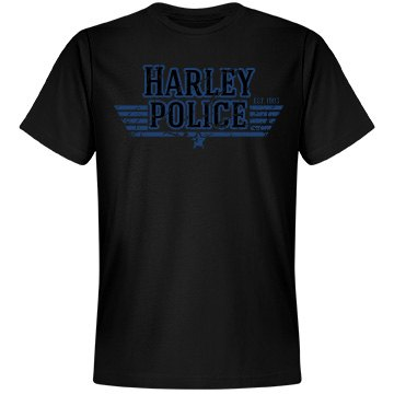 Harley Police Officer