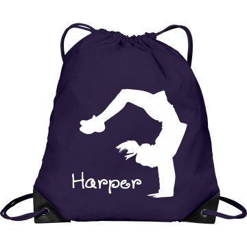 Harper cheerleader bag