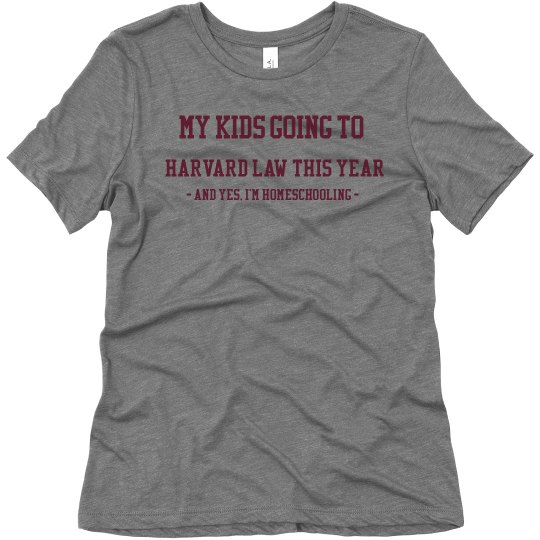 Harvard law shirt