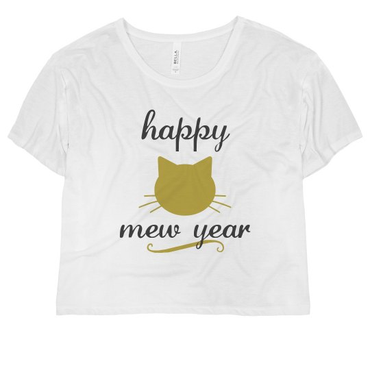 Have A Happy Golden Mew Year