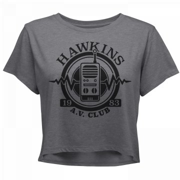 Hawkins A.V. Club 1983 Crop Top