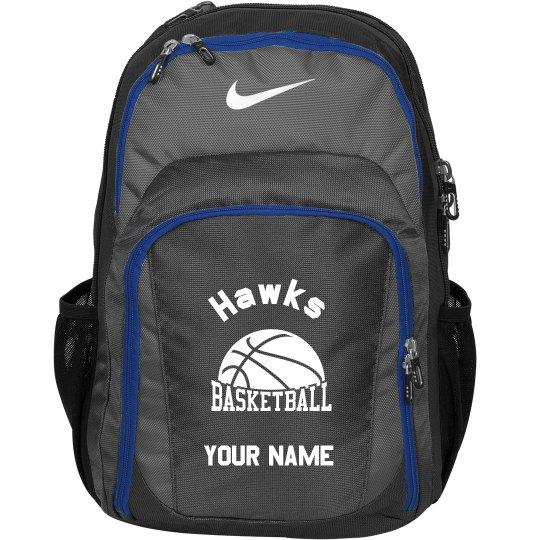 Hawks Basketball Backpack