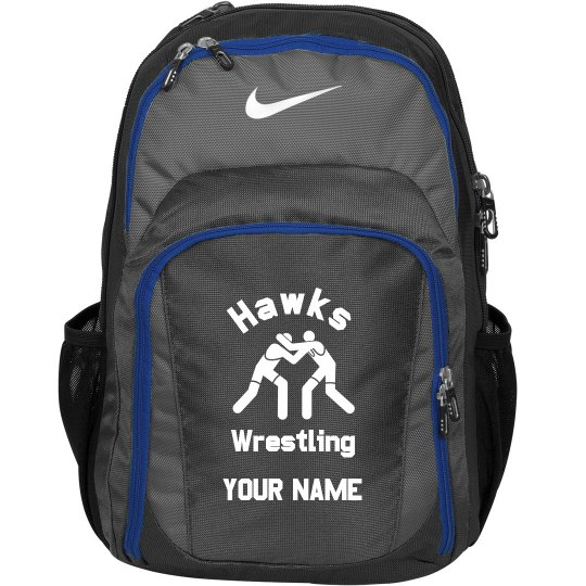 Hawks Wrestling Backpack