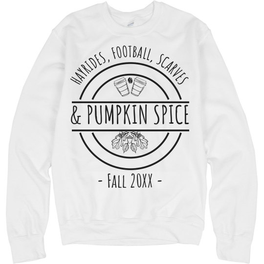 Hayrides, Football, Scarves, & Pumpkin Spice